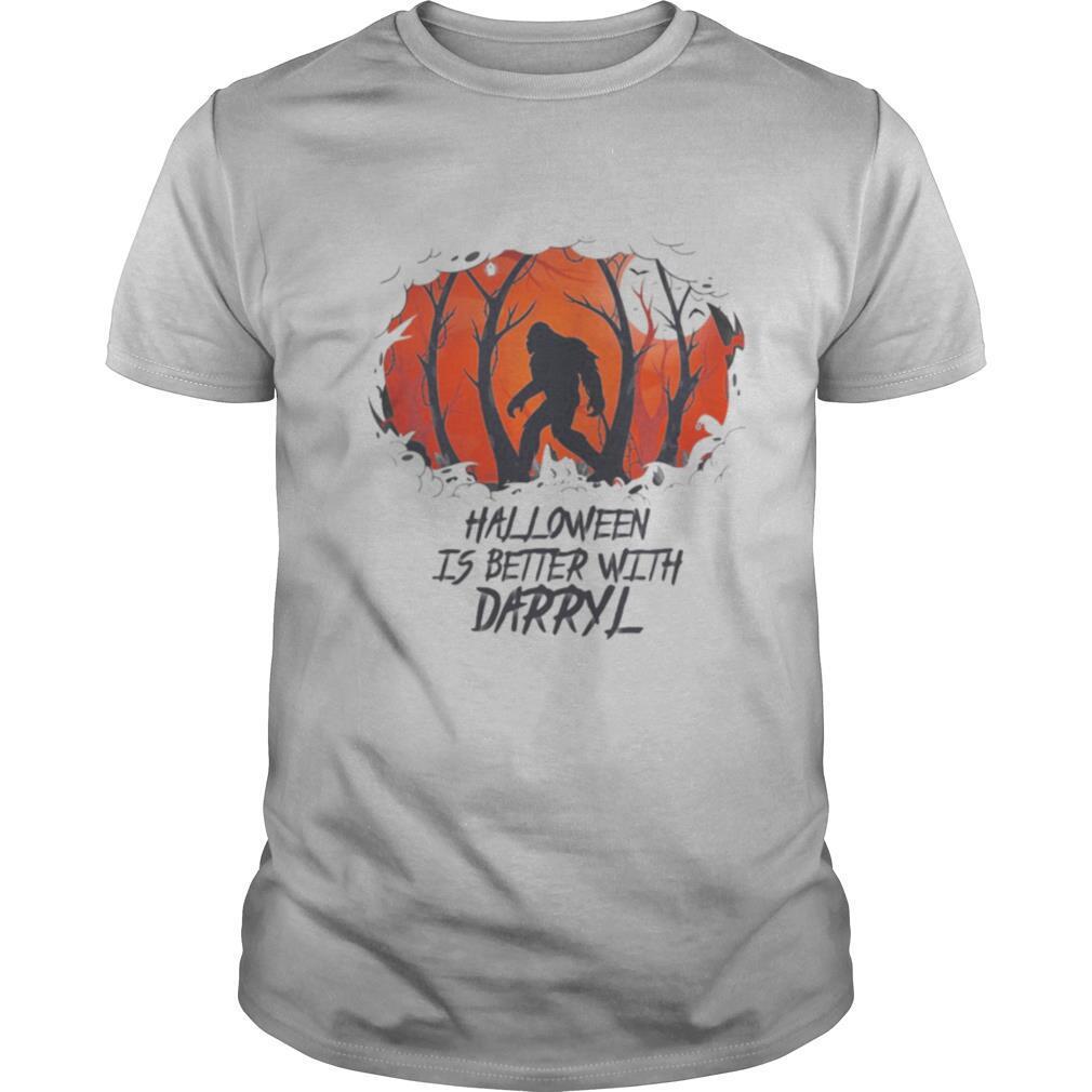 Bigfoot halloween is better with darryl shirt Classic Men's