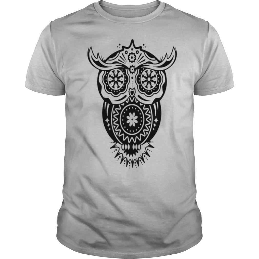 Different Decorations In The Style Of The Mexican Sugar Skulls shirt Classic Men's