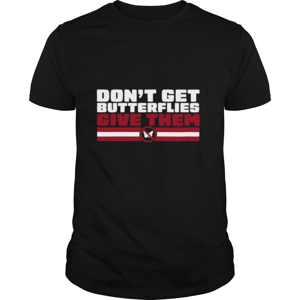 Don't Get Butterflies New England Football shirt Classic Men's