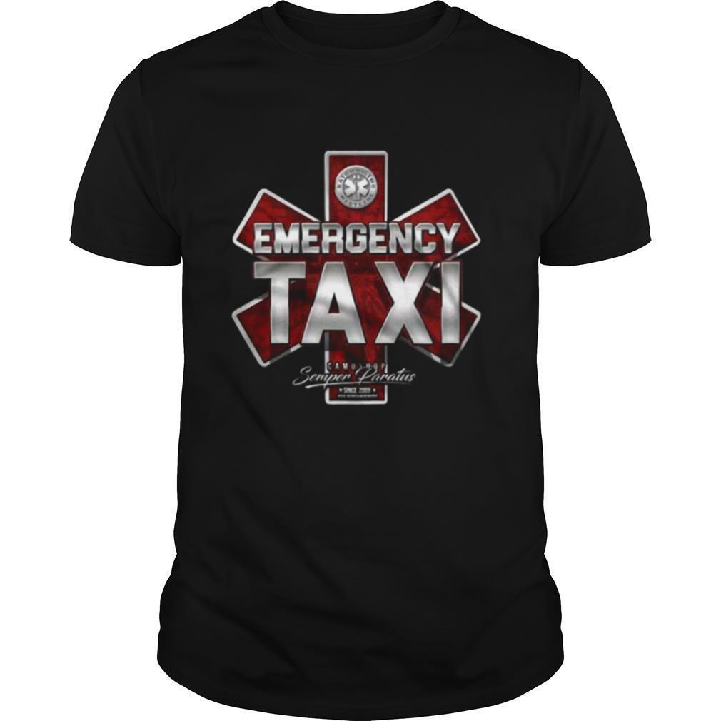 Emergency Taxi Camoshop Semper Paratus shirt Classic Men's