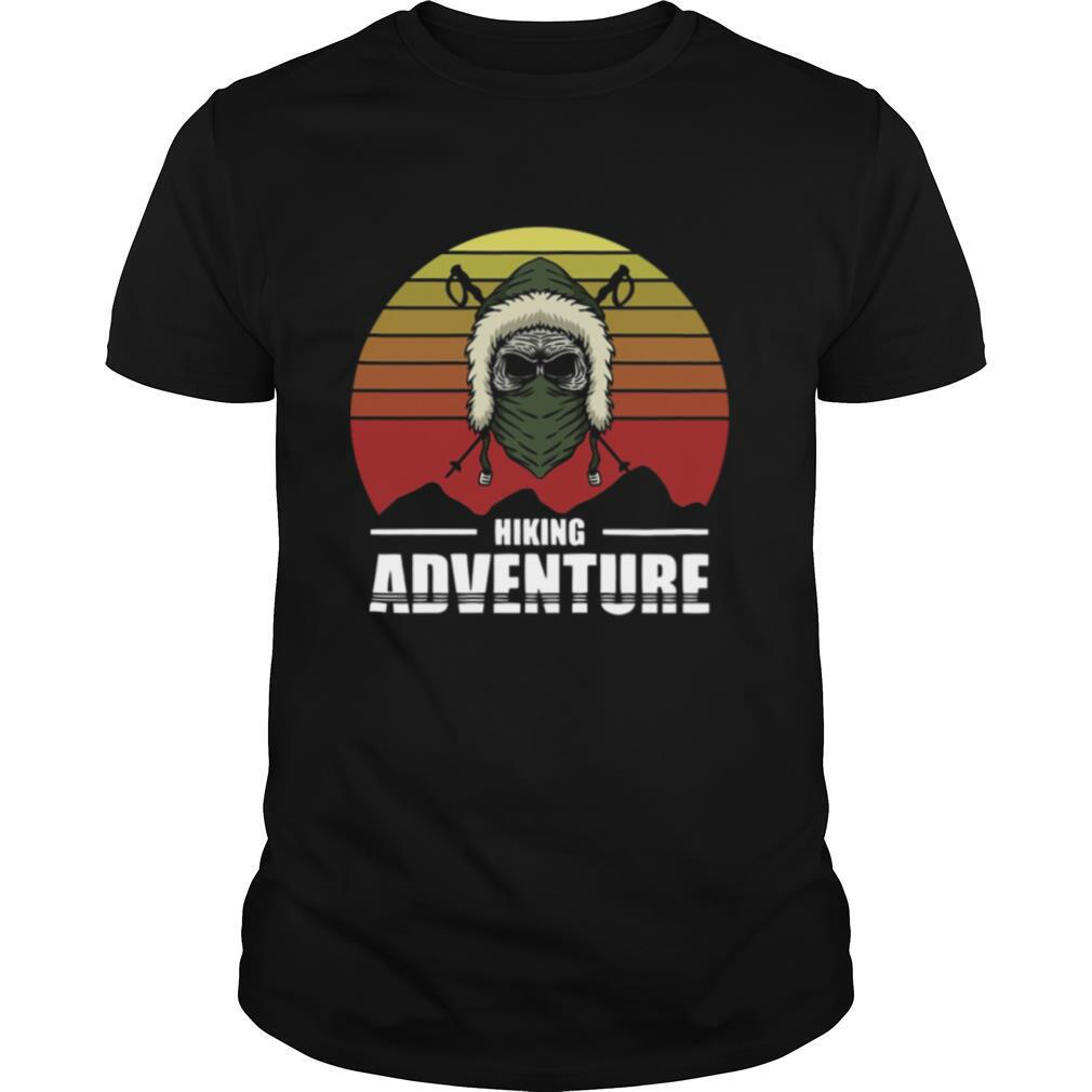 Hiking Adventure Day Of The Dead Vintage shirt Classic Men's
