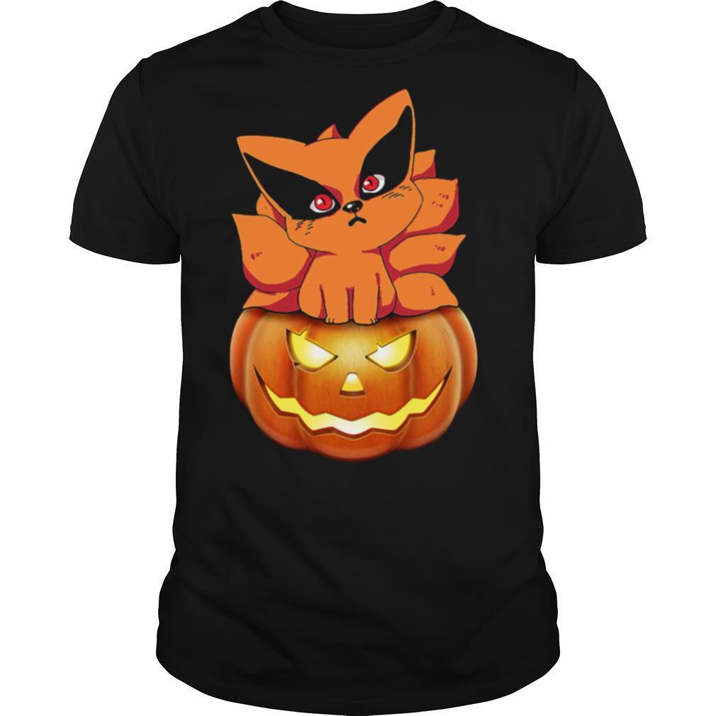 Kurama Pokemon Pumpkin Halloween shirt Classic Men's