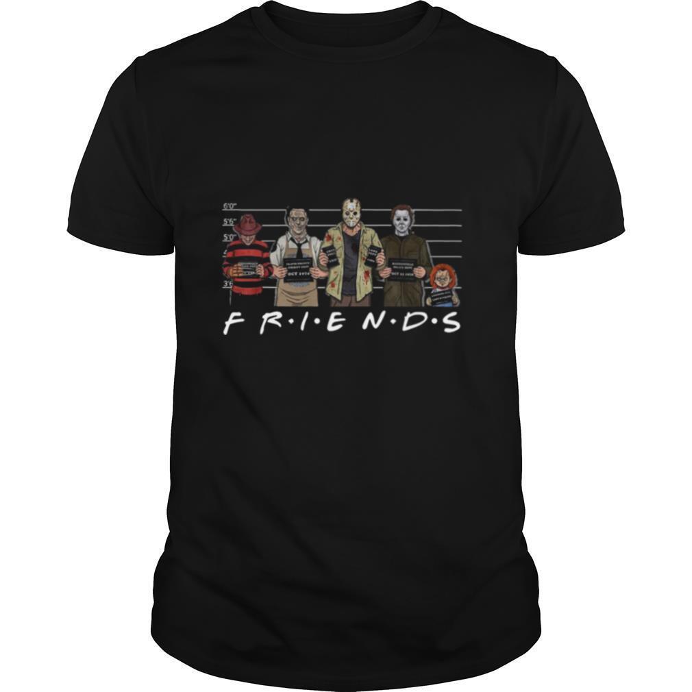 Michael Myers Jason Voorhees Horror Friends shirt Classic Men's