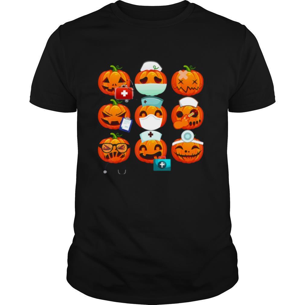 Nurse Emoji Funny Nurse Halloween shirt Classic Men's