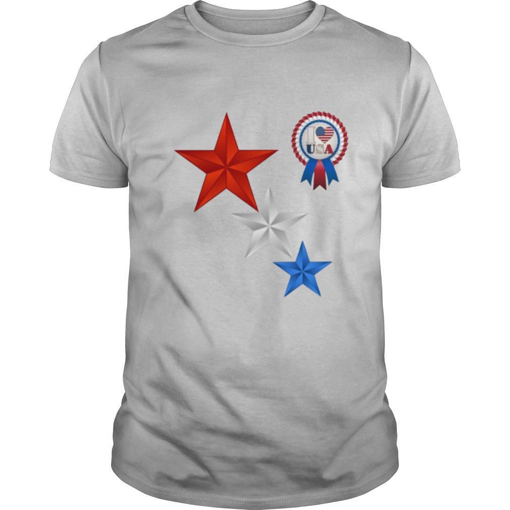 4th Of July I Love USA shirt Classic Men's