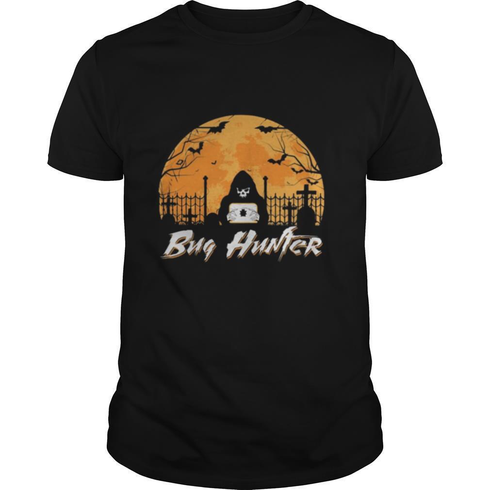 Bug Hunter Moon Halloween shirt Classic Men's
