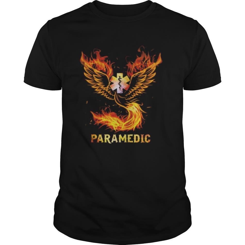 Caduceus fire paramedic shirt Classic Men's