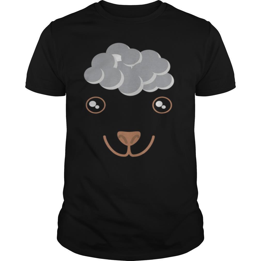 Cute Animal Face Sheep Costume shirt Classic Men's