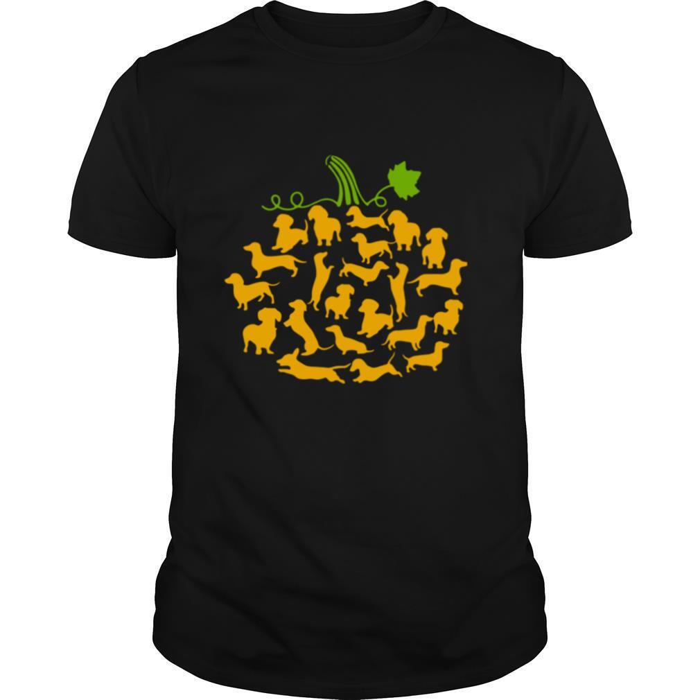 Dachshund Pumpkin shirt Classic Men's