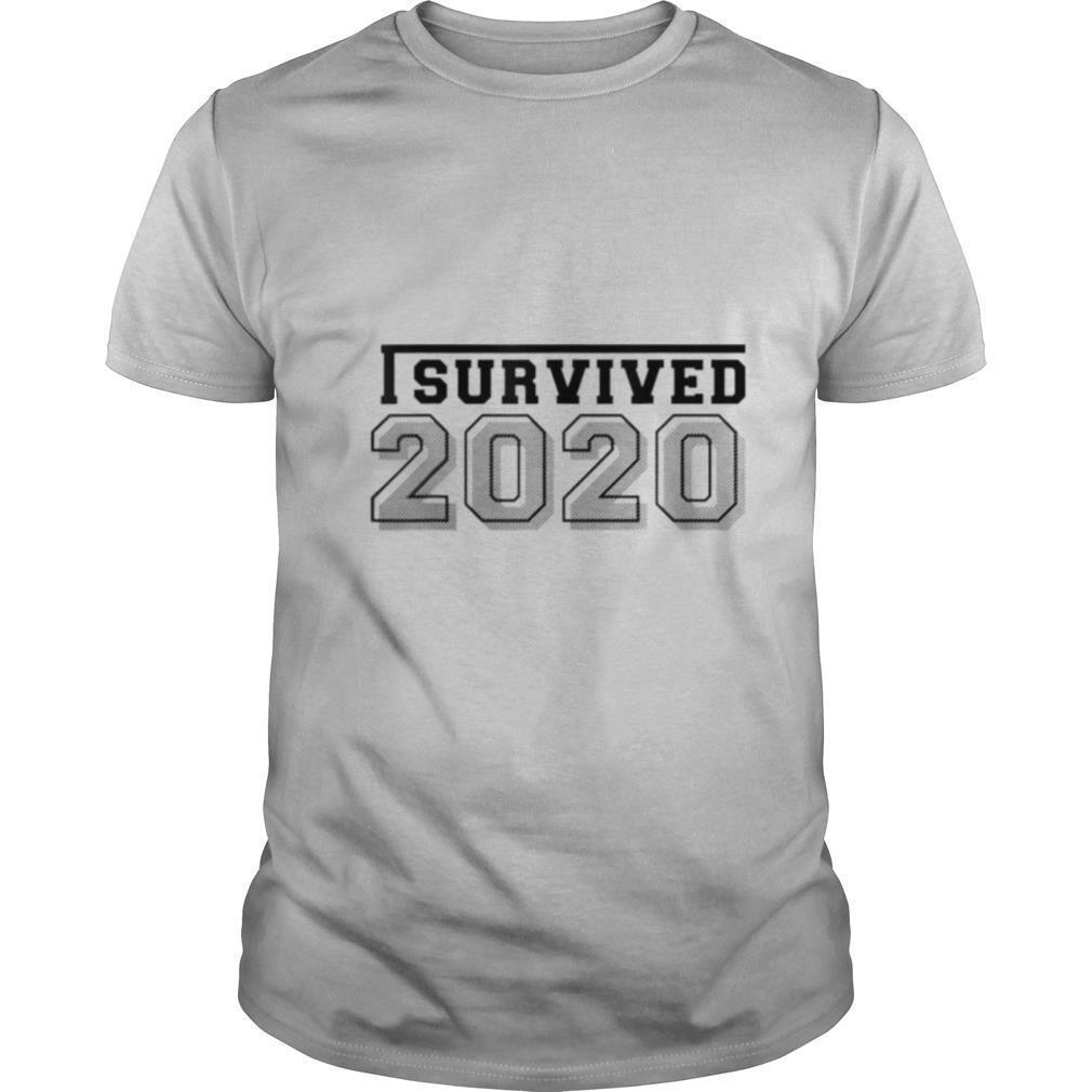 I survived 2020 shirt Classic Men's