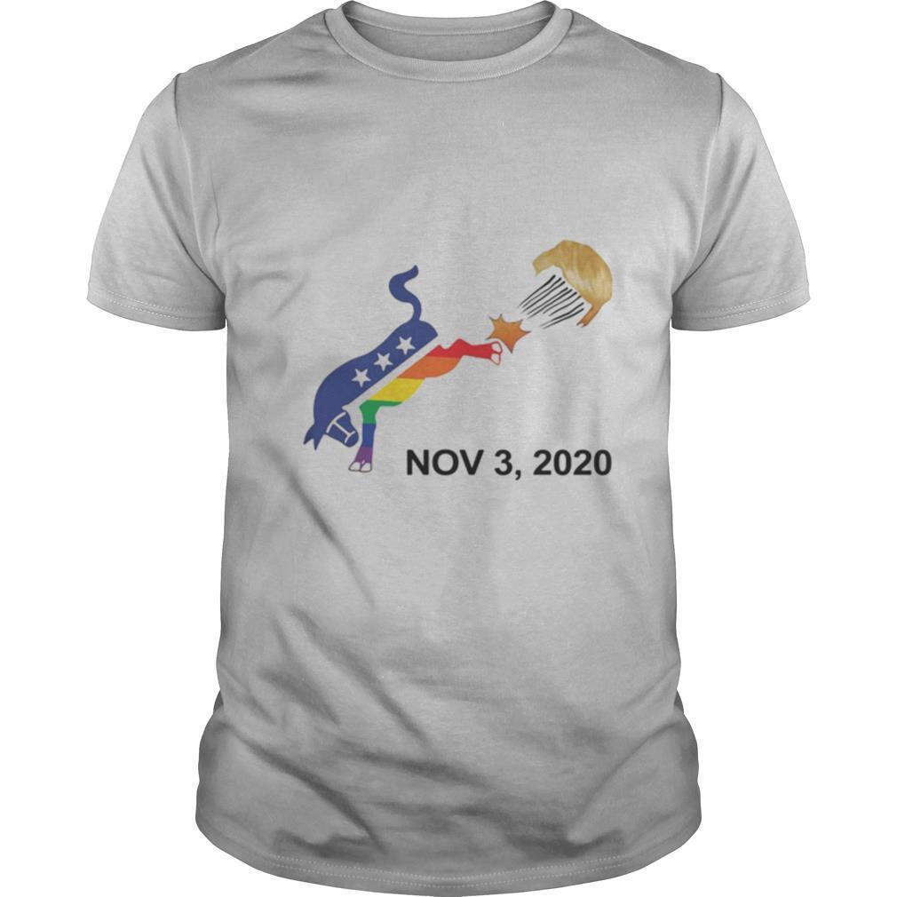 november 3, 2020 horse lgbt shirt Classic Men's