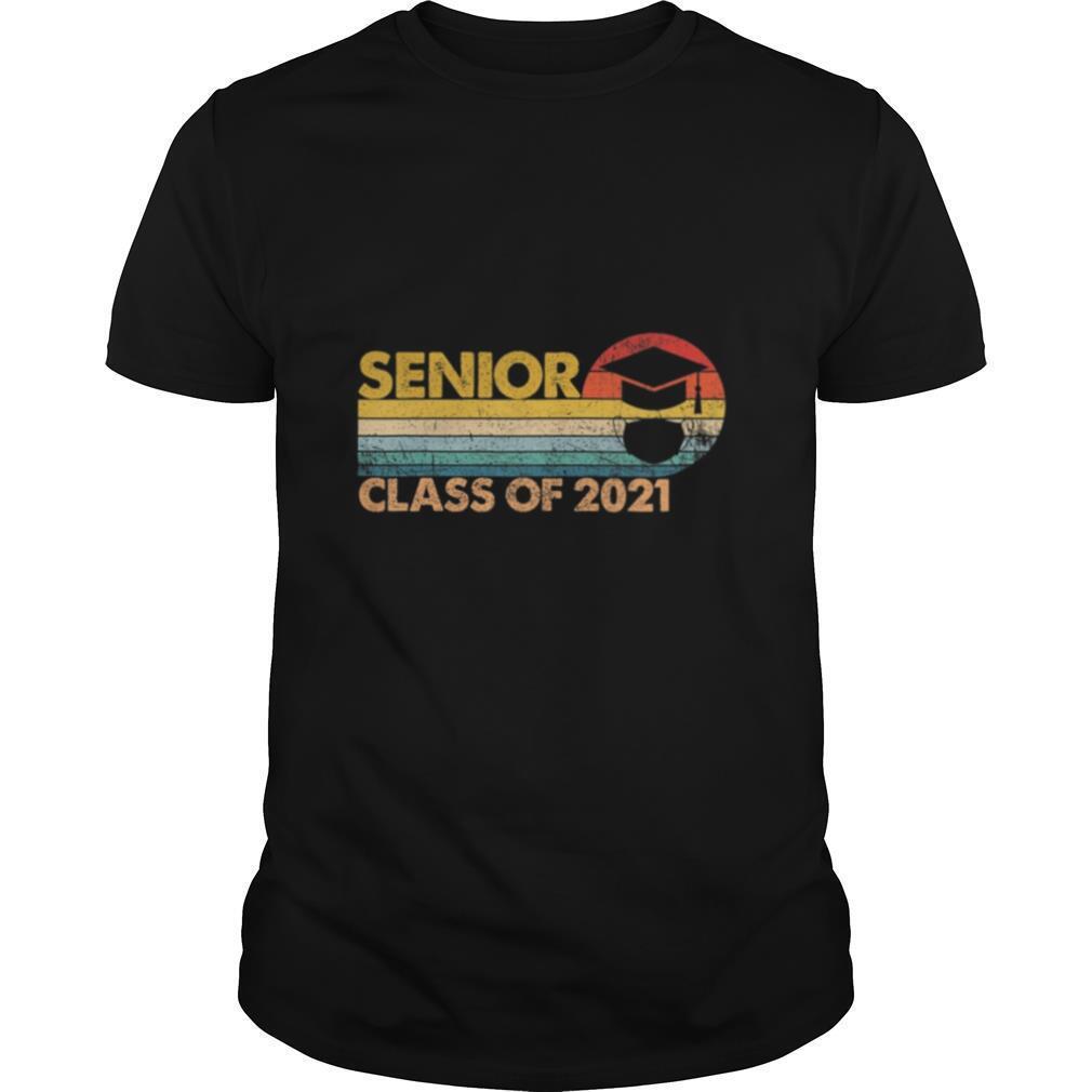 Th Vintage Senior 2021 Class Of 2021 shirt Classic Men's