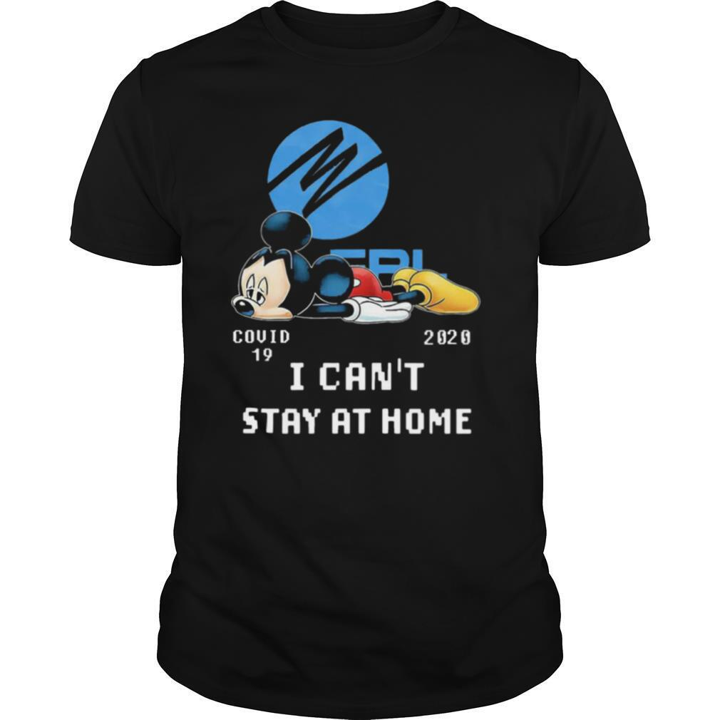 Florida Power And Light Mickey Mouse Covid 19 2020 I Cant Stay At Home shirt Classic Men's