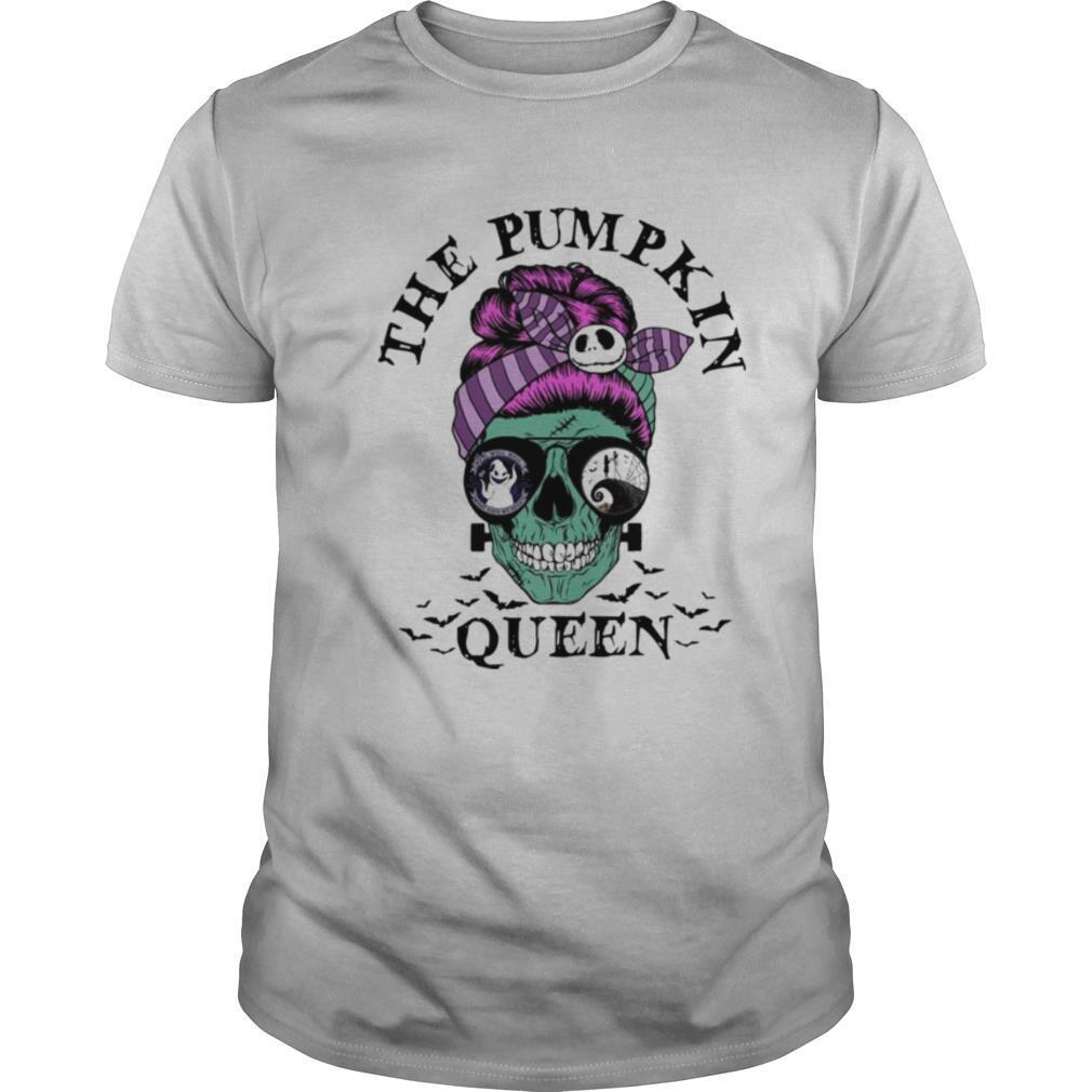 Halloween skull the pumpkin queen shirt Classic Men's