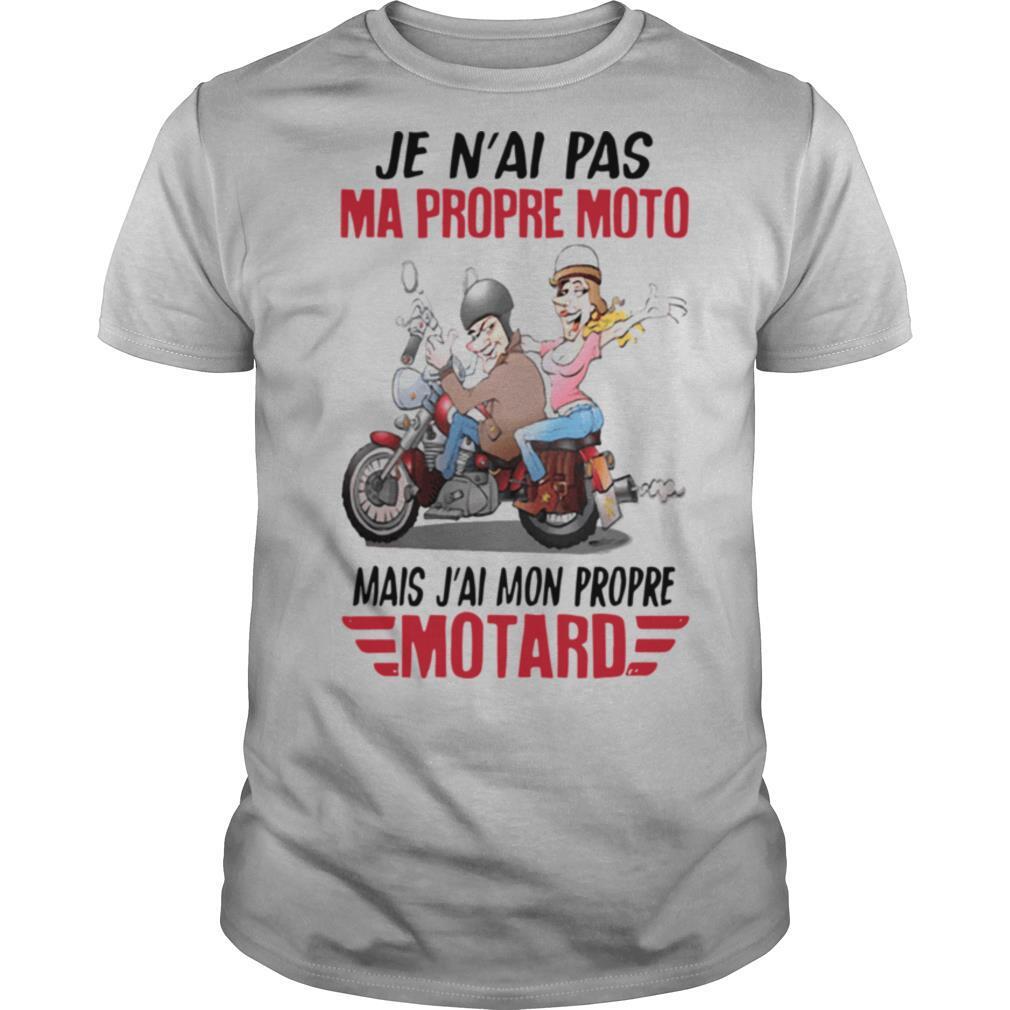 Je n'ai pas ma propre moto mais j'ai mon propre motard shirt Classic Men's