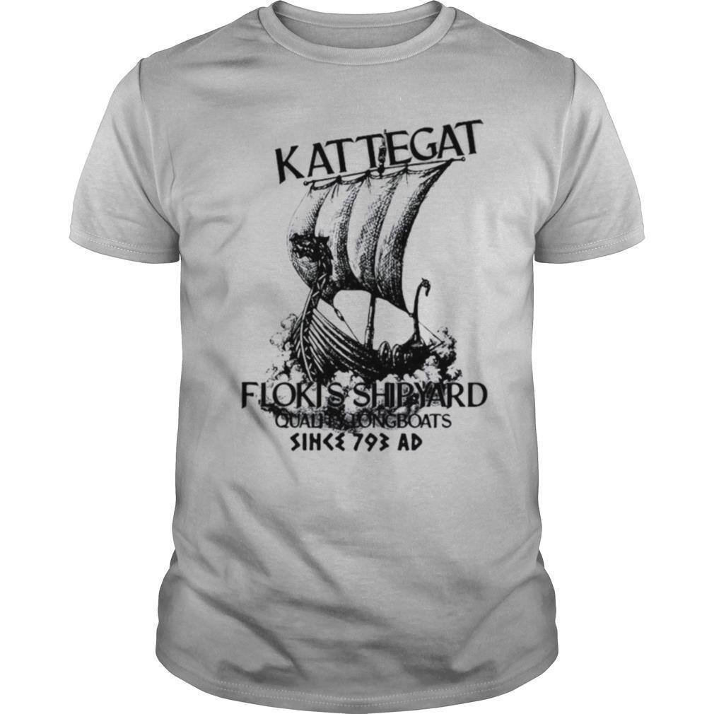 Kattegat Floki's Shipyard Quality Longboats Since 793 Ad shirt Classic Men's