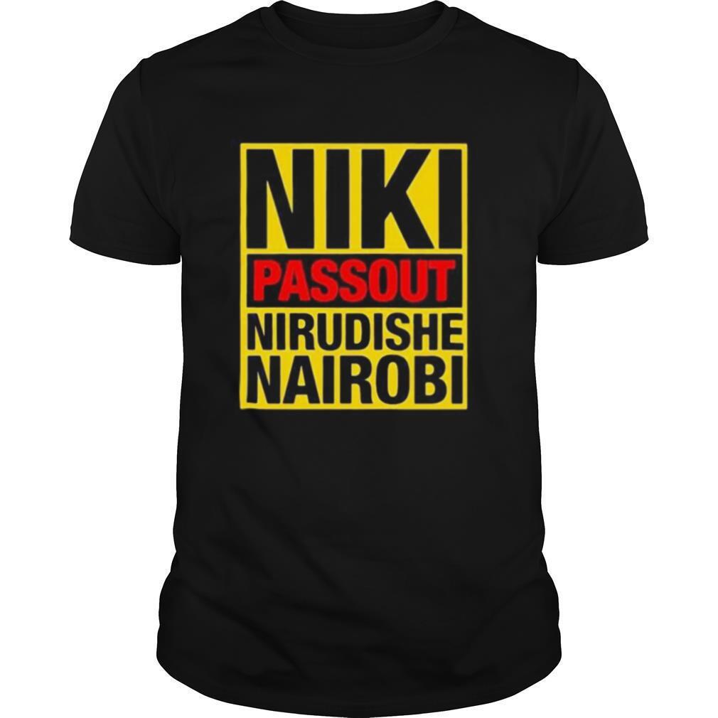 Niki passout nirudishe nairobi shirt Classic Men's
