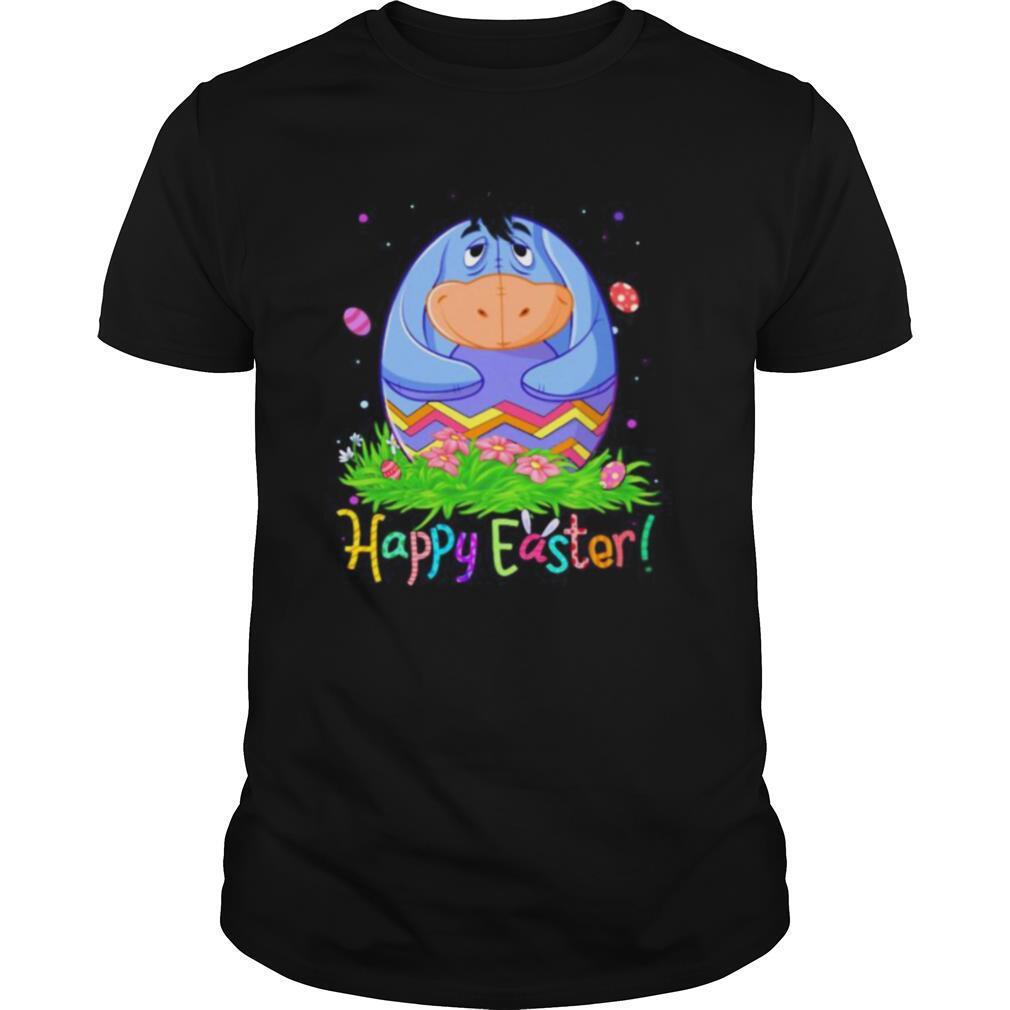 Disney eeyore donkey happy easter flower shirt Classic Men's