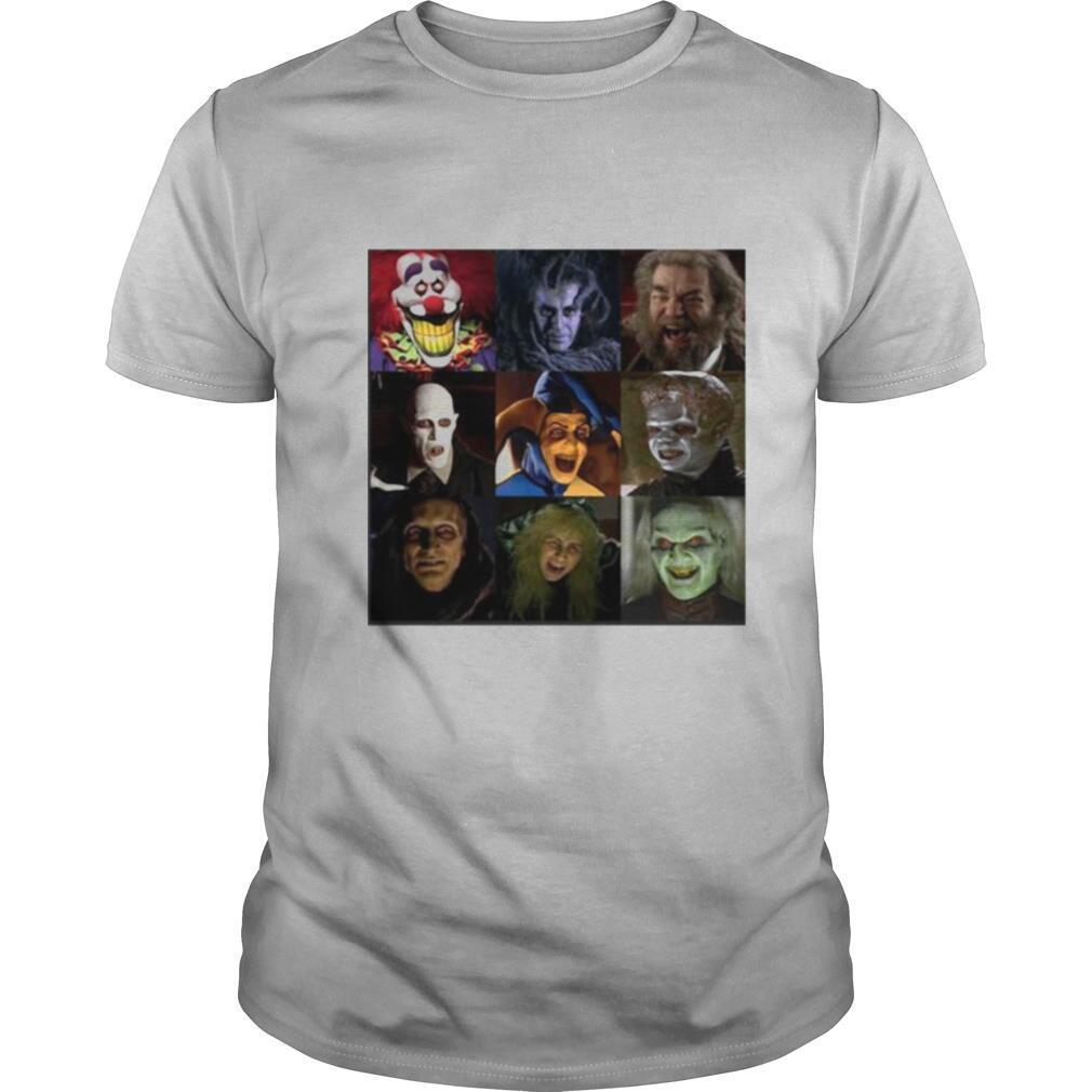 Halloween horror characters face shirt Classic Men's