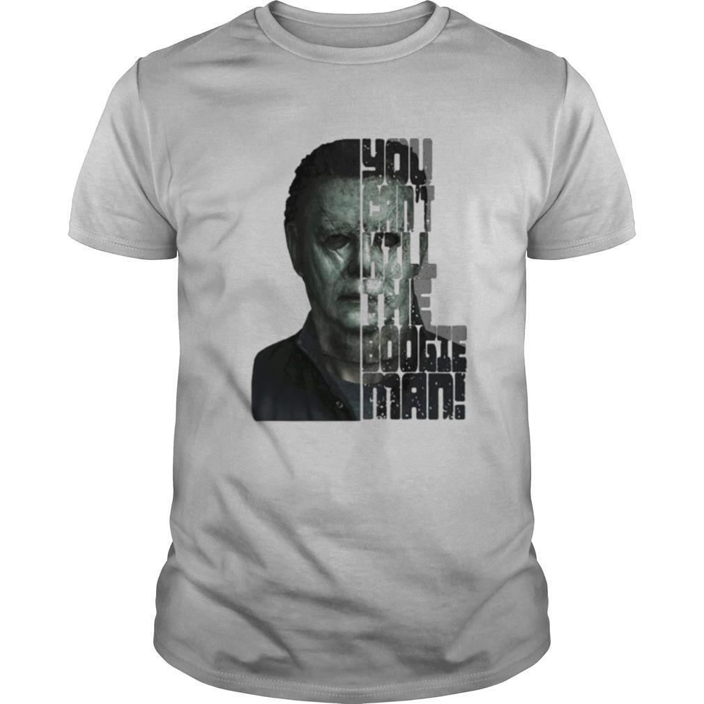 Halloween michael myers you can't kill the boogeyman shirt Classic Men's