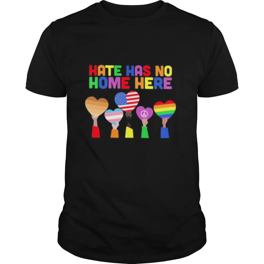 LGBT Hate has no home here shirt Classic Men's