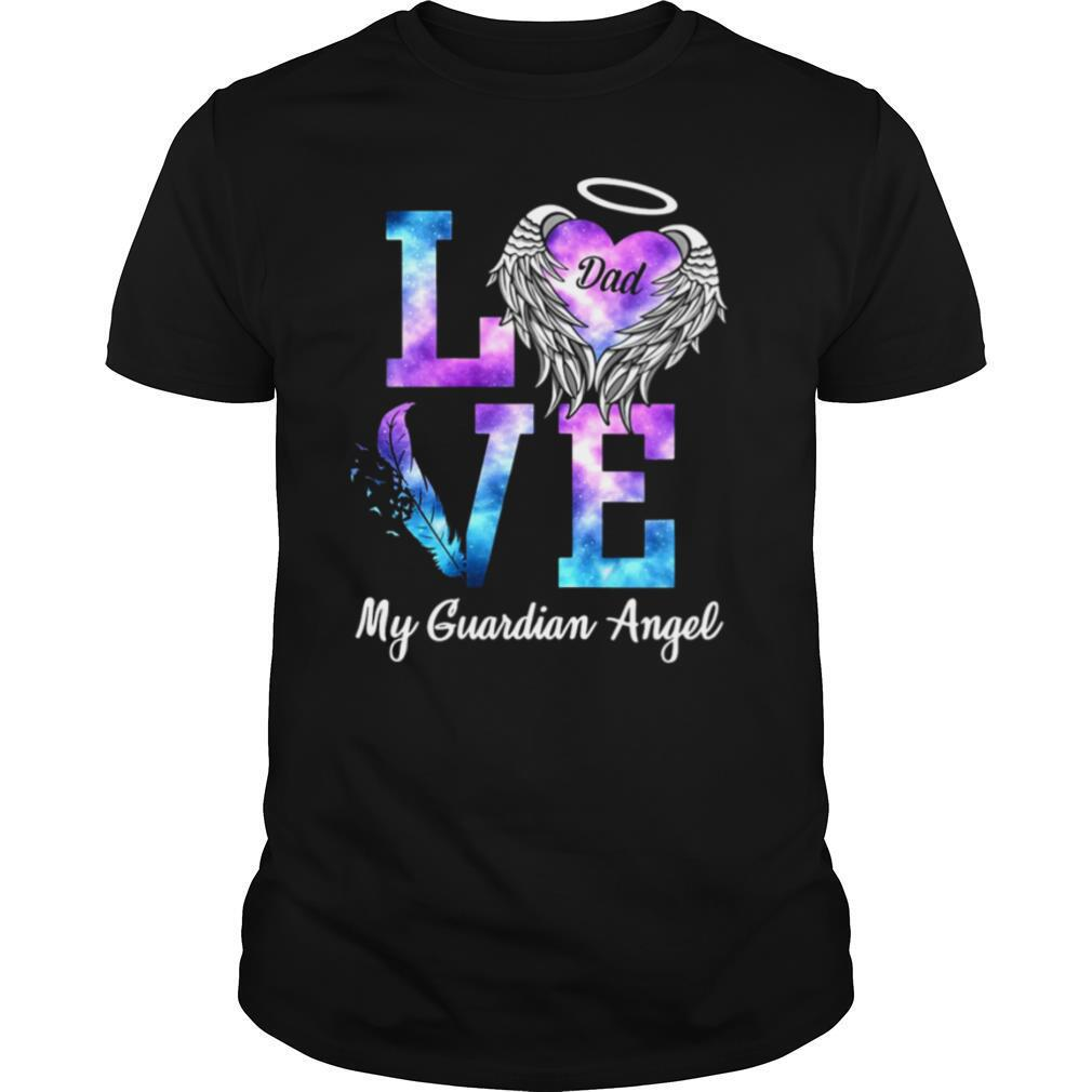 Love Dad My Guardian Angel shirt Classic Men's