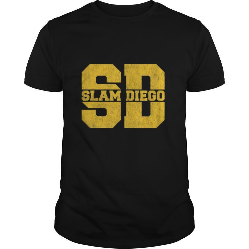 Slam Diego San Diego Souvenirs shirt Classic Men's