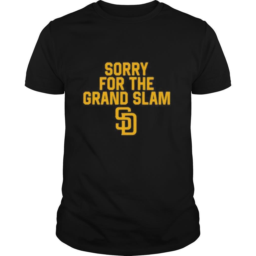 Sorry for the grand slam san francisco giants shirt Classic Men's