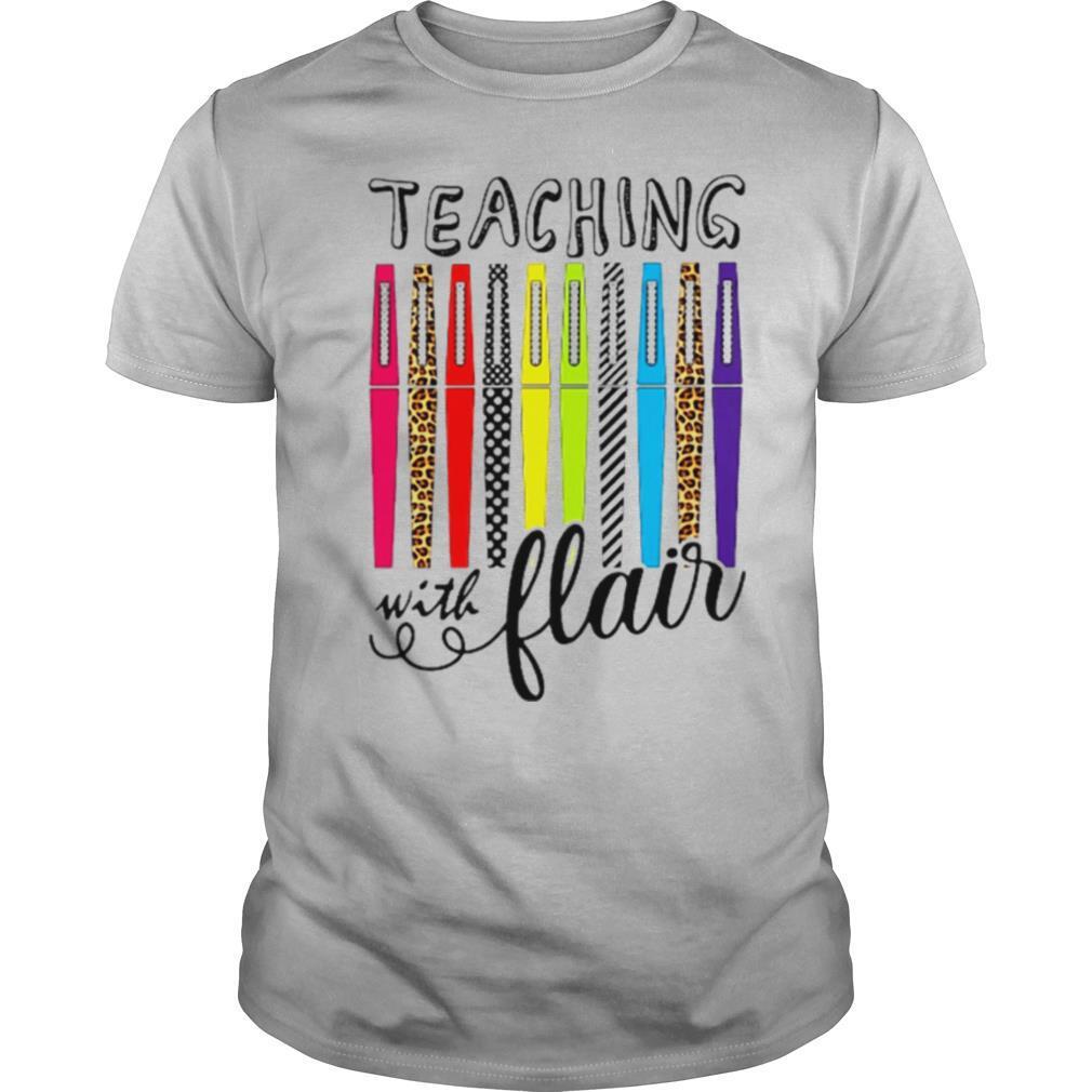 Teaching With Flair Teacher shirt Classic Men's