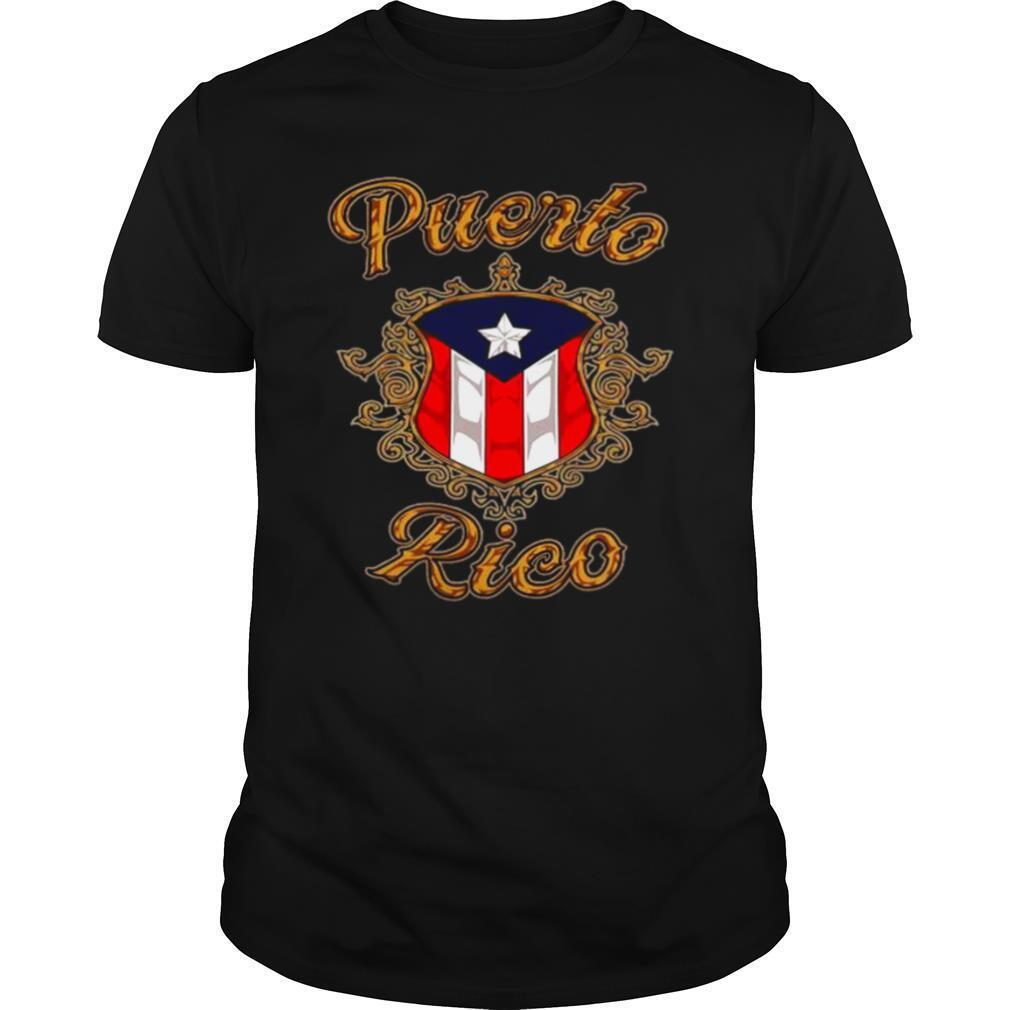 The Puerto Rico Logo 2021 shirt Classic Men's