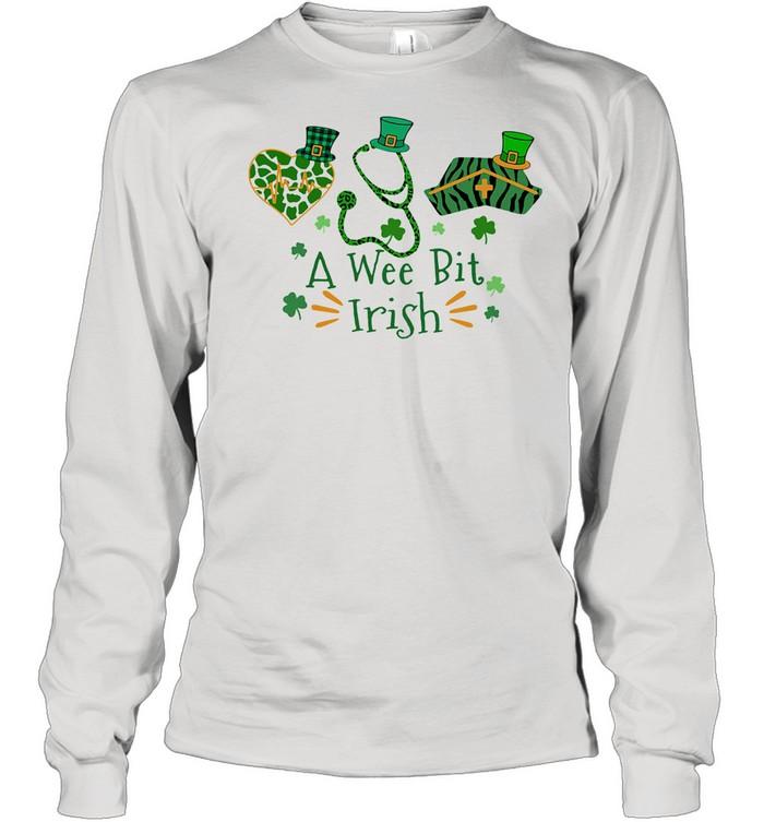 A Wee Bit Irish shirt Long Sleeved T-shirt