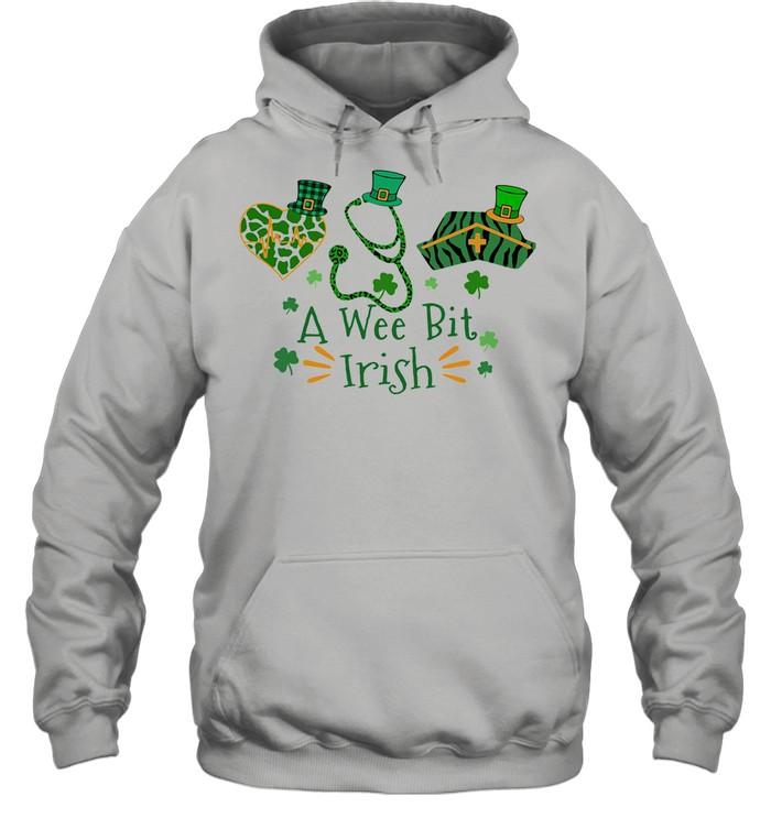 A Wee Bit Irish shirt Unisex Hoodie