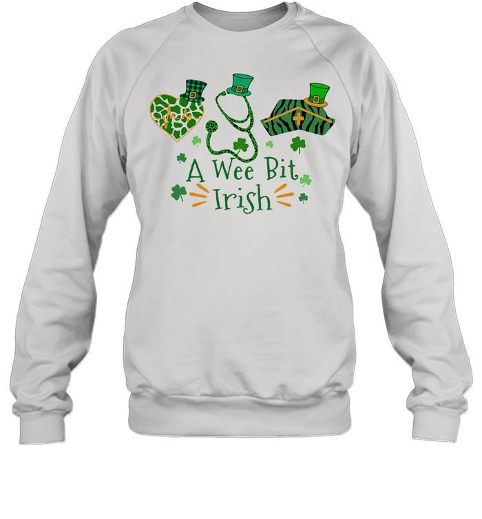 A Wee Bit Irish shirt Unisex Sweatshirt