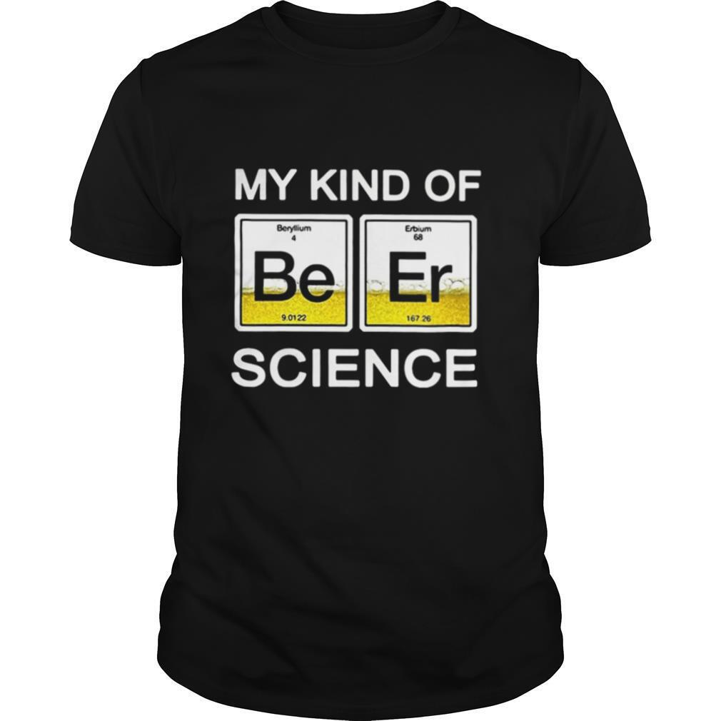 Chemistry My kind of beer science shirt Classic Men's