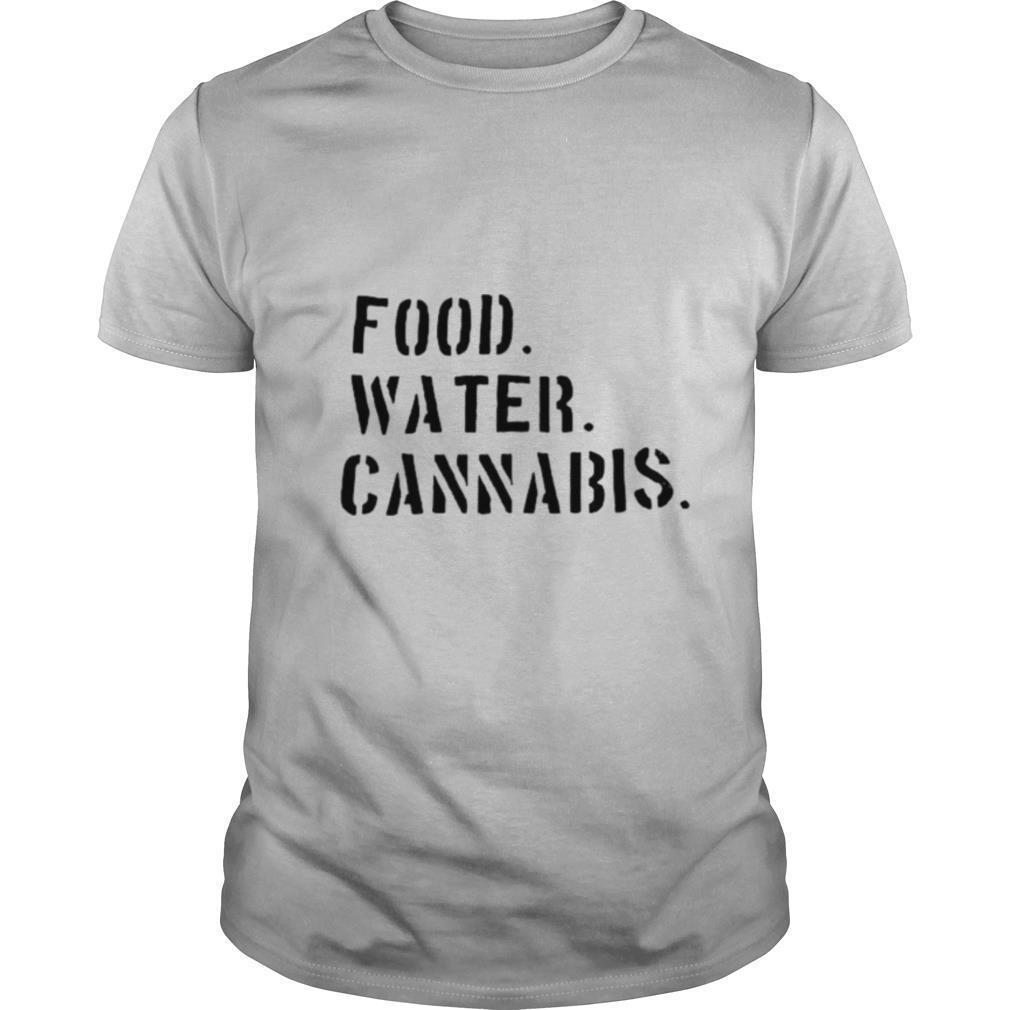 food water cannabis shirt Classic Men's