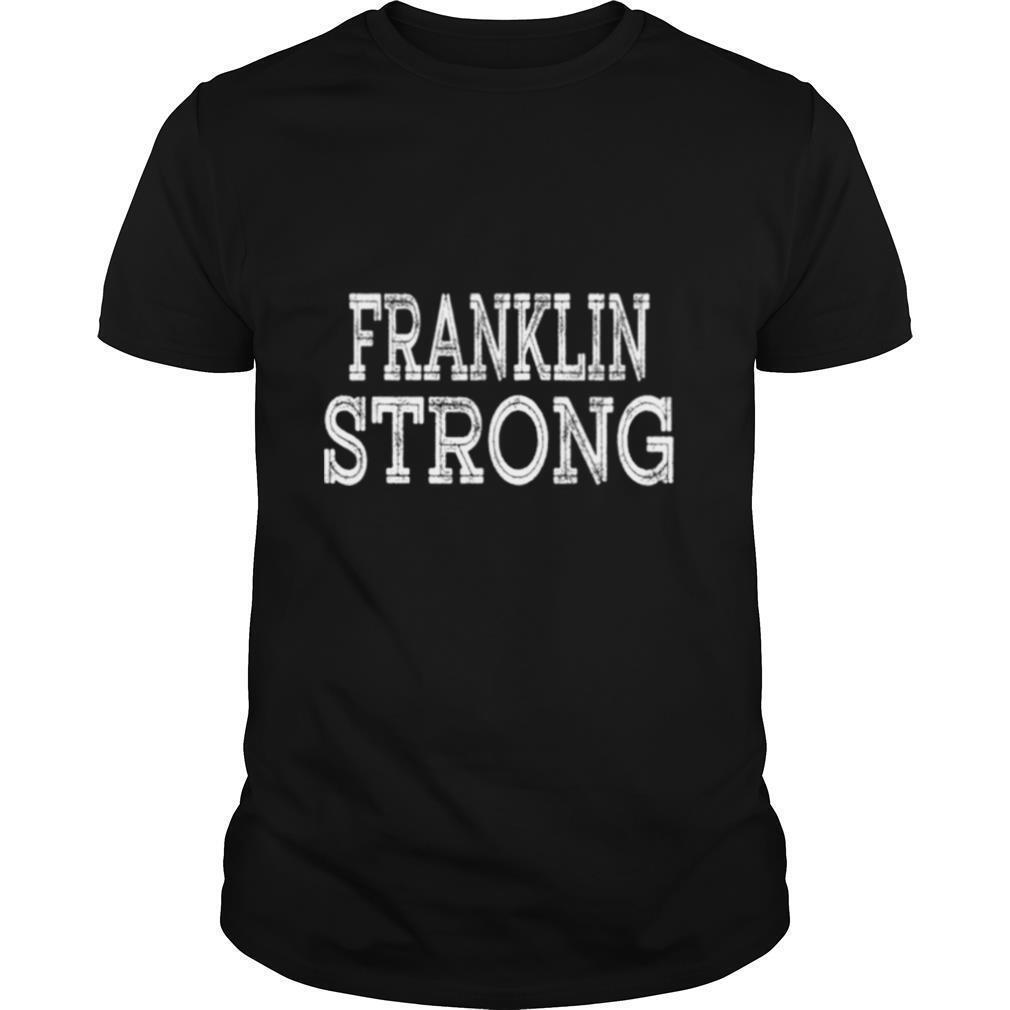 FRANKLIN Strong Squad Family Reunion Last Name Team Custom shirt Classic Men's