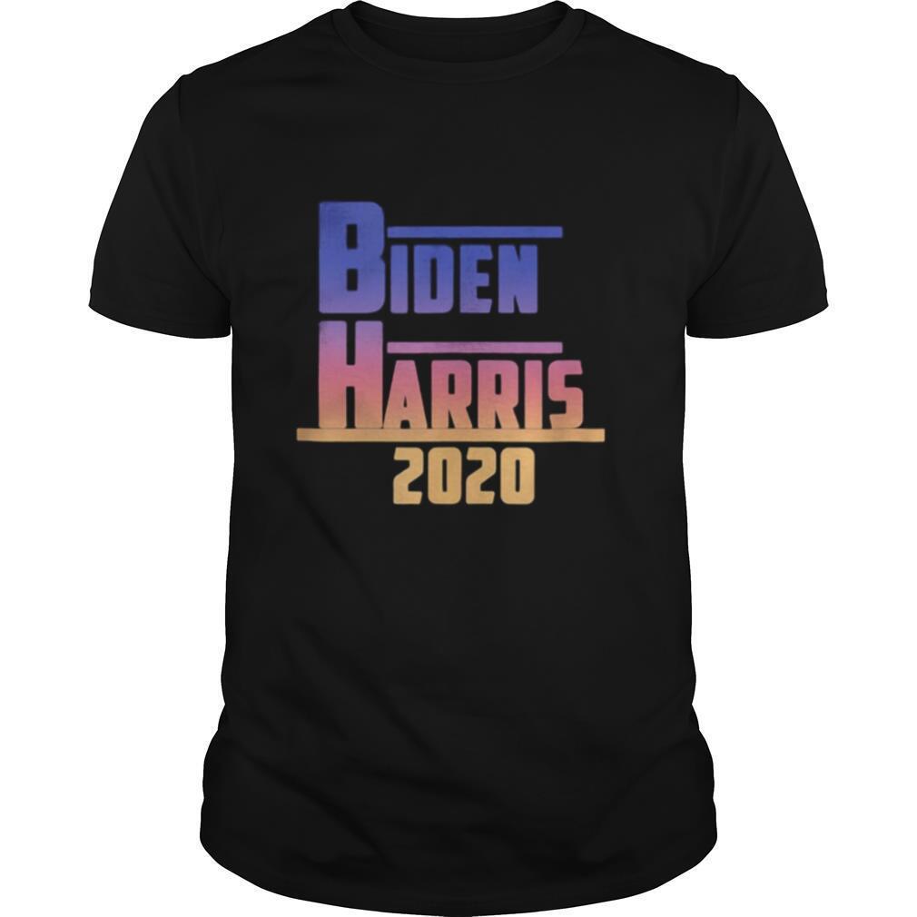 Joe biden kamala harris 2020 color shirt Classic Men's