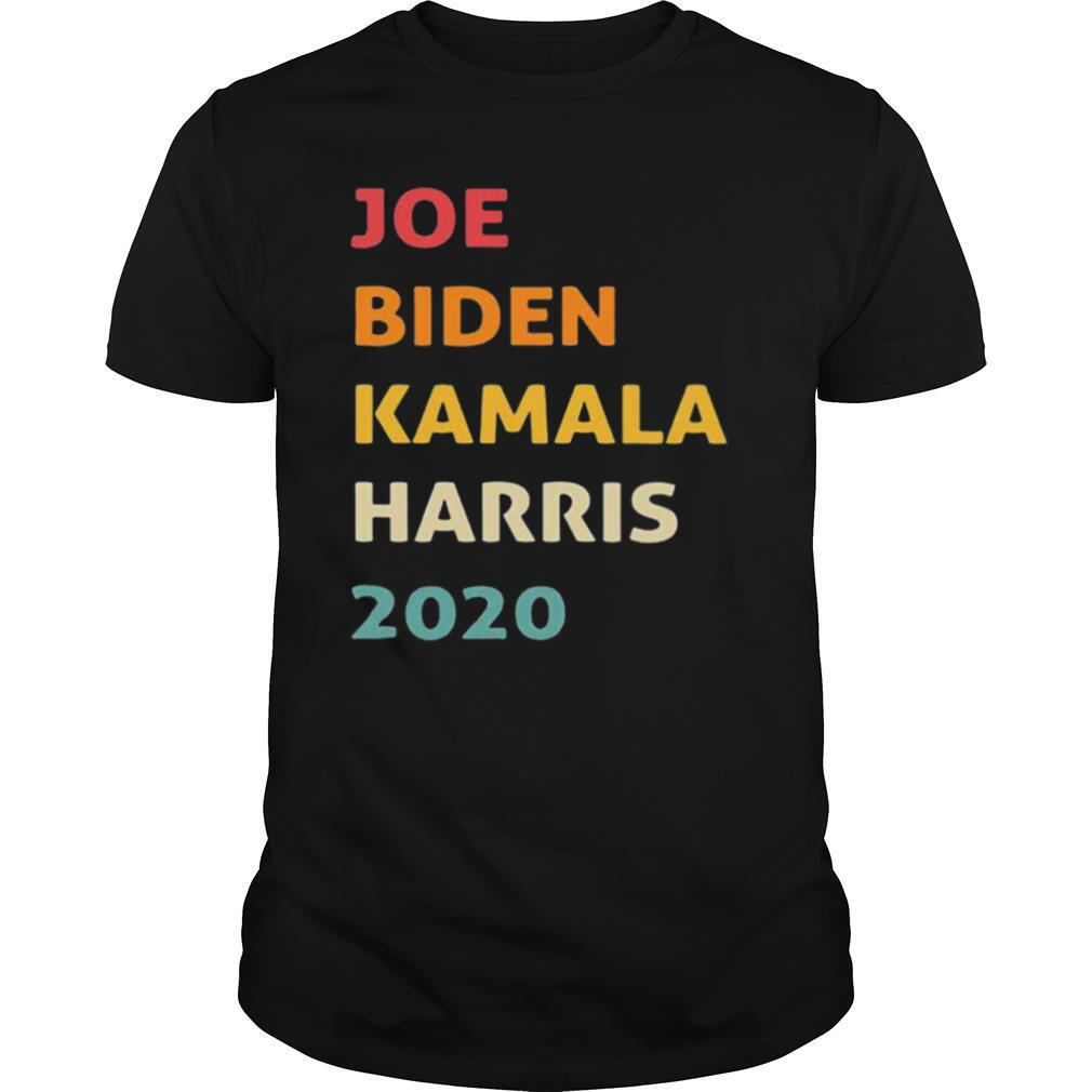 Joe biden kamala harris 2020 retro black shirt Classic Men's