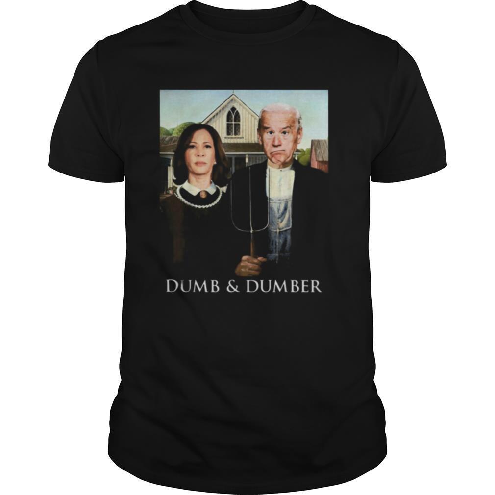 Joe Biden Kamala Harris Dumb and Dumber 2020 shirt Classic Men's