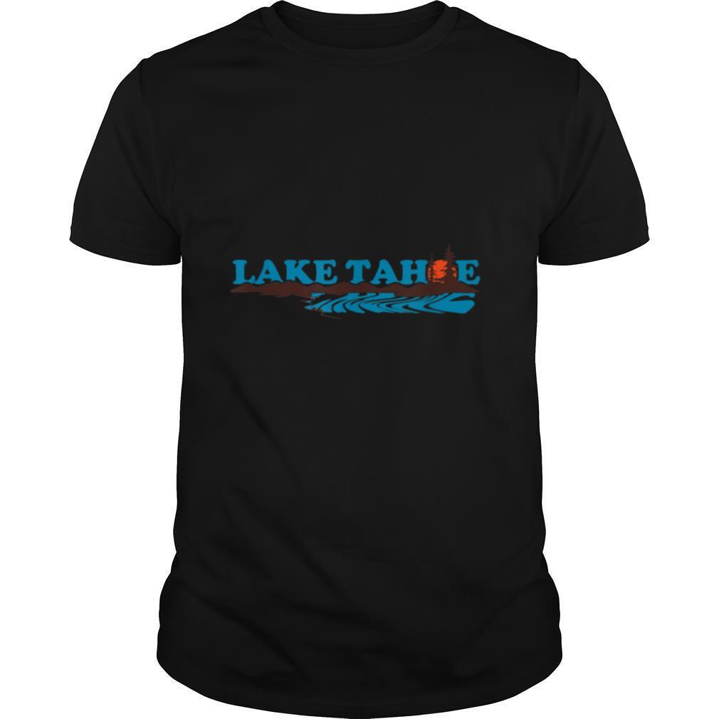 Lake Tahoe Retro California 1970s vacation T shirt Classic Men's