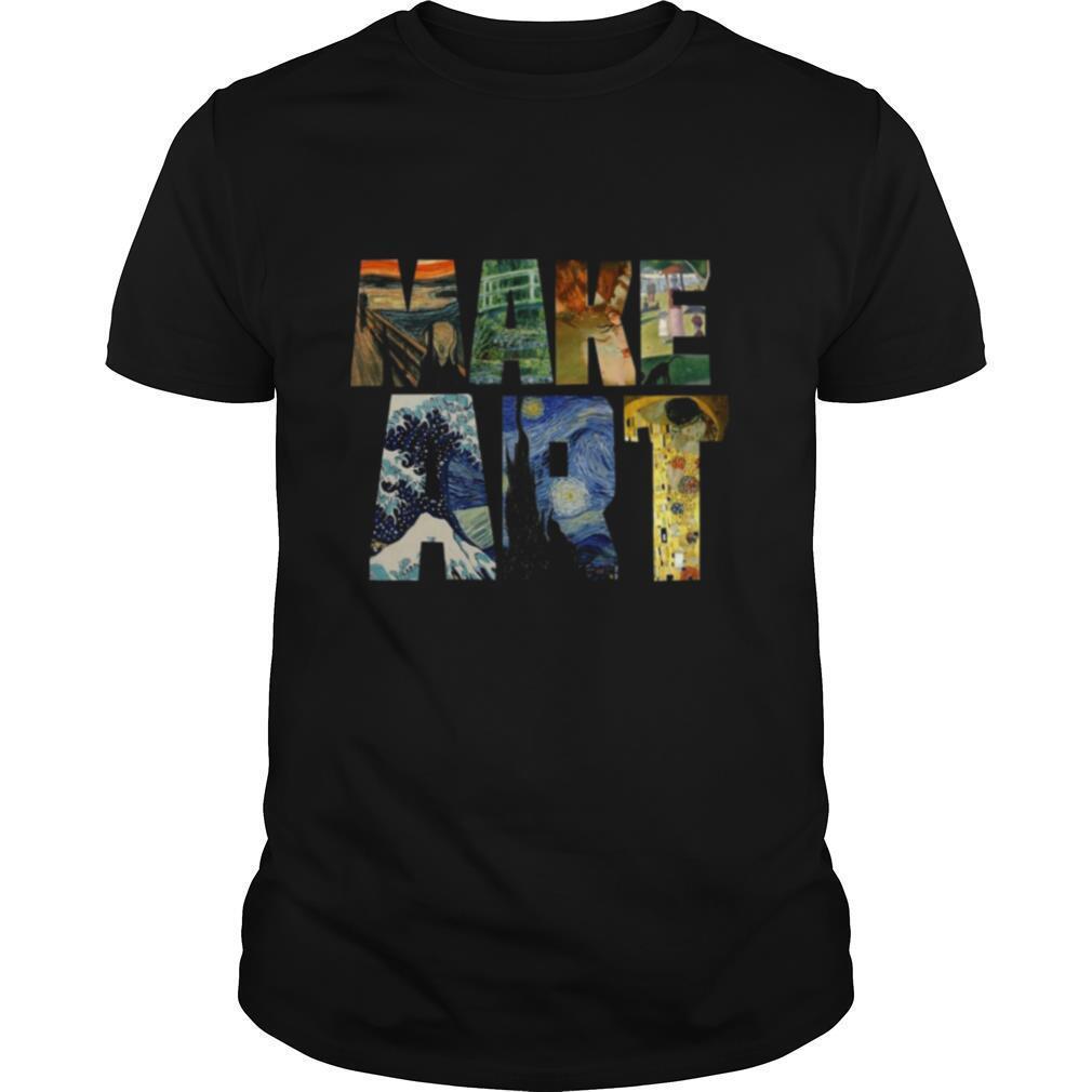 Make Art Artist Artistic shirt Classic Men's