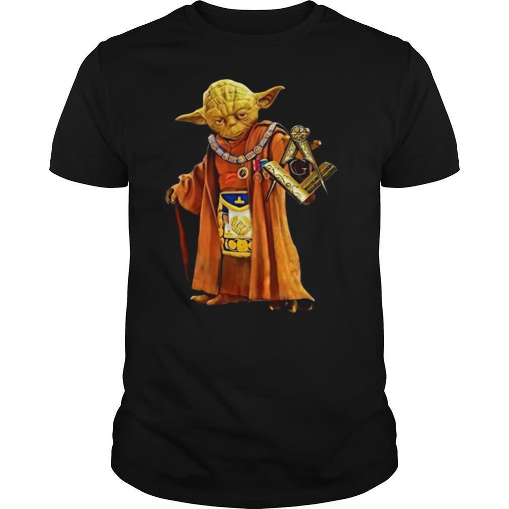 Master Yoda Freemason Brother shirt Classic Men's