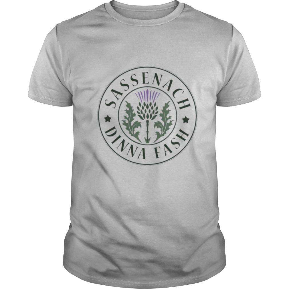 Sassenach dinna fash shirt Classic Men's