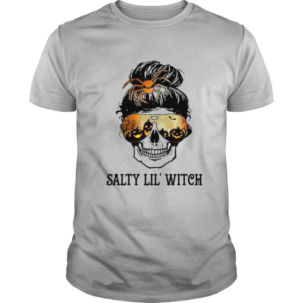 Skull Salty Lil Witch Halloween shirt Classic Men's