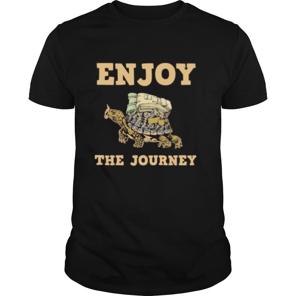 Turtle enjoy the journey shirt Classic Men's