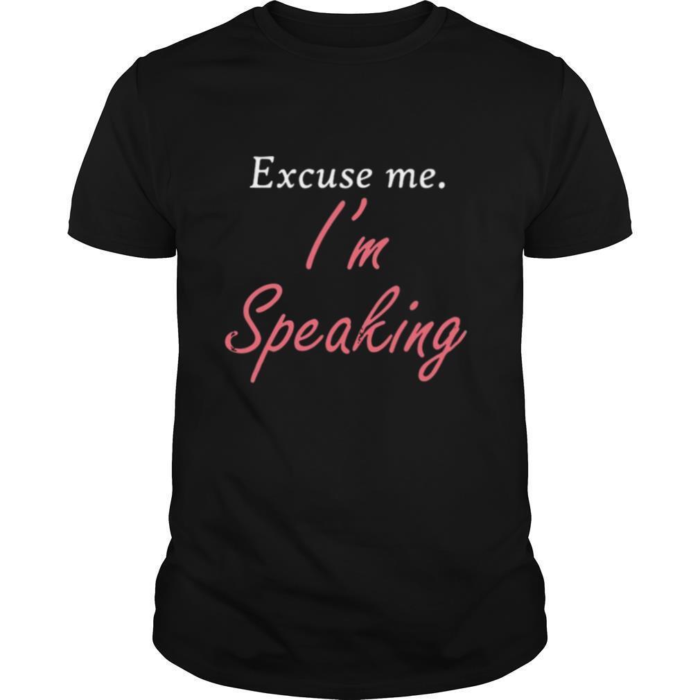 Excuse Me I'm Speaking Kamala Harris I Am Speaking Vp Debate shirt Classic Men's