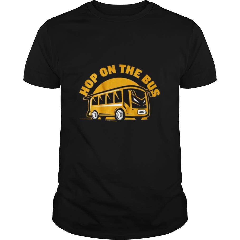 Hop On The Bus shirt Classic Men's