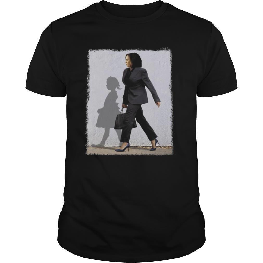 Kamala Harris Ruby Bridges Walking Madam Vice President shirt Classic Men's