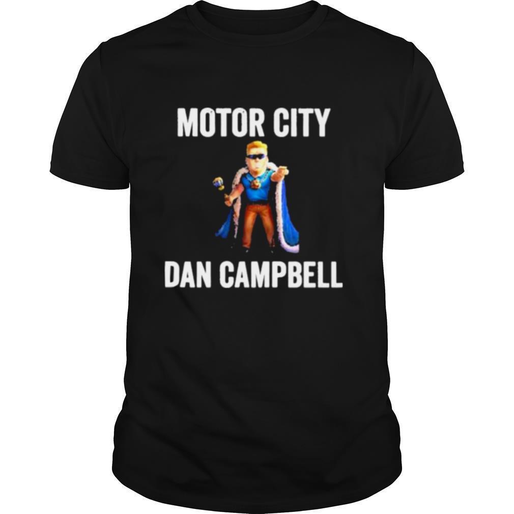 Motor city dan campbell shirt Classic Men's