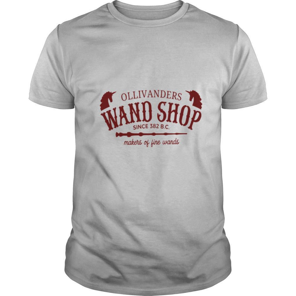 Ollivanders Wand Shop Sign 382 Bc Makers Of Fine Wands shirt Classic Men's